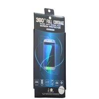 Пленка защитная силиконовая трехмерная 2 в 1 для Samsung GALAXY S8 полноэкранная (на две стороны)