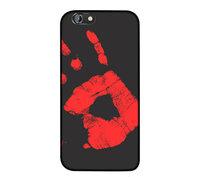 """Черный силиконовый чехол накладка для iPhone 6 / 6s (4.7"""") с покрытием Soft Touch - реагирует на тепло ( Physical Thermal Sensor Discoloration Soft TPU )"""