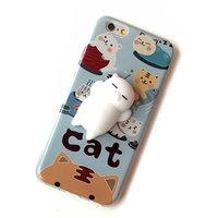 """3D Котики - силиконовый чехол для iPhone 6 / 6s (4.7"""")"""