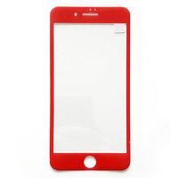 """Защитное 3D стекло для iPhone 6 / 6s  (4.7"""") с красной рамкой - 3D Premium Tempered Glas"""