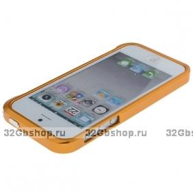 Aлюминиевый бампер для iPhone 5 / 5s / SE Vapor 5 золотой