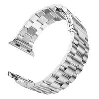 Серебряный браслет HOCO из нержавеющей стали для Apple Watch 42мм
