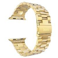 Золотой браслет HOCO из нержавеющей стали для Apple Watch 38мм