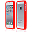 Силиконовый бампер для iPhone 5 / 5s / SE красный