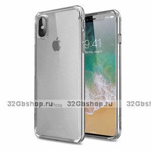 Прозрачный силиконовый чехол для iPhone X 10