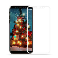 Защитное 3D стекло для iPhone X / Xs с белой рамкой - 3D Curved Full Coverage Tempered Glass