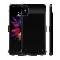 Черная батарея чехол аккумулятор для iPhone X