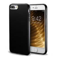 Черный силиконовый чехол для iPhone 8 Plus