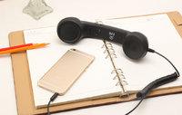Ретро гарнитура - трубка с кнопкой ответа и регулировкой громкости 3.5 мм для iPhone