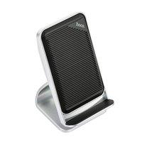 Докстанция подставка беспроводная зарядка для iPhone X Hoco CW11 Wisewind wireless rapid charging 5V- 2.0A / 9V- 1.8A MAX Silver
