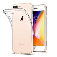 Прозрачный силиконовый чехол для iPhone 8