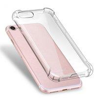 Прозрачный силиконовый чехол для iPhone 8 усиленный