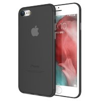 Черный ультратонкий пластиковый чехол для iPhone 8
