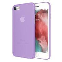 Фиолетовый ультратонкий пластиковый чехол для iPhone 8
