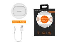 Белая беспроводная зарядка ARUM для iPhone X - QI Wireless Charging Charger White 5V 1A