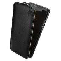 Черный кожаный чехол флип IMUCA для iPhone X 10 - IMUCA Flip Case Black