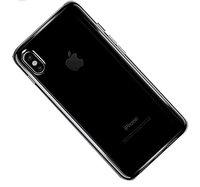 Прозрачный силиконовый чехол для iPhone X 10 с выступом над камерой