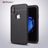 Черный силиконовый чехол для iPhone X 10 выступ над камерой