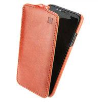 Коричневый кожаный чехол флип IMUCA для iPhone X / Xs 10 - IMUCA Flip Case Brown