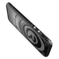 Черный металлический бампер для iPhone X 10 - Black