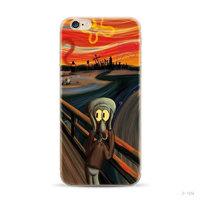"""Силиконовый чехол для iPhone 6 / iPhone 6s (4.7"""") с рисунком Крик - Сквидвард"""
