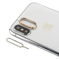 Защитное кольцо камеры для iPhone X / Xs золотое - COTEetCI Aluminium Gold
