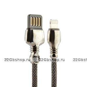 Черный USB кабель Remax King Data Cable LIGHTNING charging 1.0 м