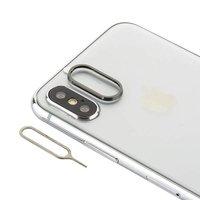 Защитное кольцо камеры для iPhone X черное - COTEetCI Aluminium Black