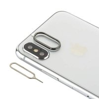 Защитное кольцо камеры для iPhone X / Xs черное - COTEetCI Aluminium Black