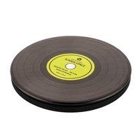 Беспроводное зарядное устройство для iPhone X / Xs / 8 / 8 Plus - I-Carer Printed Pattern Leather Fast Wireless Charging Black Disk - 2A