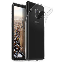 Прозрачный силиконовый чехол для Samsung Galaxy S9