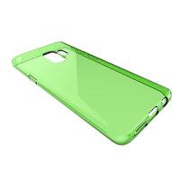 Зеленый прозрачный силиконовый чехол для Samsung Galaxy S9