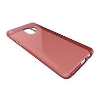 Красный прозрачный силиконовый чехол для Samsung Galaxy S9