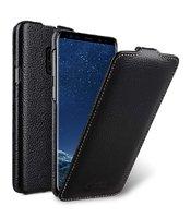 Черный кожаный чехол флип для Samsung Galaxy S9 - Melkco Premium Leather Case Jacka Type Black