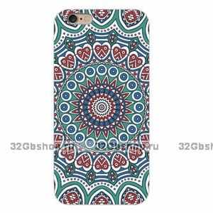 Накладка Floral Pattern для iPhone 5 / 5s / SE с узором