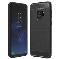 Черный защитный чехол для Samsung Galaxy S9 - Hard TPU Proof Case Black