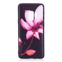 Силиконовый чехол для Samsung Galaxy S9 с рисунком цветок