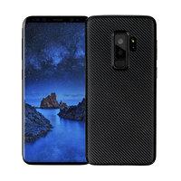 Черный карбоновый чехол для Samsung Galaxy S9 Plus