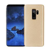 Золотистый карбоновый чехол для Samsung Galaxy S9 Plus