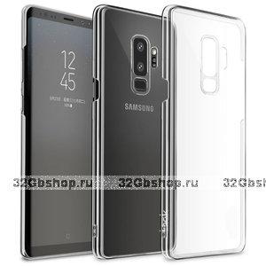 Прозрачный пластиковый чехол для Samsung Galaxy S9 Plus