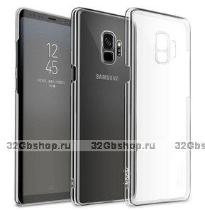 Прозрачный пластиковый чехол для Samsung Galaxy S9