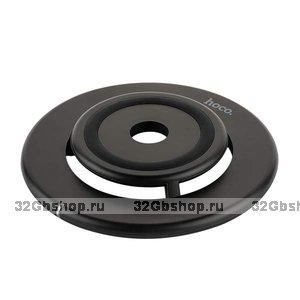 Черное беспроводное зарядное устройство для Samsung Galaxy S9+ / S9 - Hoco Exalted Wireless Charging Black 5V-2A
