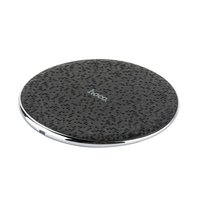 Черная беспроводная зарядка для Samsung Galaxy S9 / S9 Plus - Hoco Streaming Wireless Charging Black 5V-2A