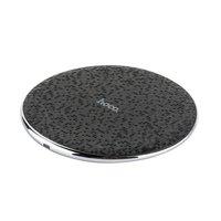 Черная беспроводная зарядка для Samsung Galaxy S9 / S9 Plus - Hoco Streaming Wireless Charging Black 5V-2A