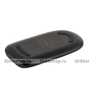 Черная быстрая беспроводная зарядка для Samsung Galaxy S9 / S9 Plus - Hoco Excellent Power Fast Charging Black 5-9V-2A