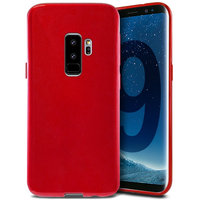 Красный силиконовый чехол для Samsung Galaxy S9+ Plus - J-Case Ultra Thin 0.5mm TPU Case Red