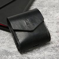 Черный кожаный чехол для AirPods - Case Black