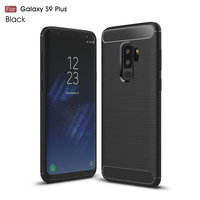 Черный защитный чехол для Samsung Galaxy S9 Plus (S9+) - Hard TPU Proof Case Black