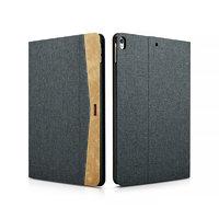 Серый тканевый чехол книжка подставка для iPad Pro 10.5 - XOOMZ Simple Fabric Material Made Folio Cover Erudition Series Grey