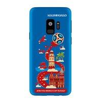 Силиконовый чехол для Samsung Galaxy S9 ЧМ по футболу Калиниград - Deppa FIFA™ Kaliningrad